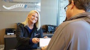 Kosak Chiropractic & Acupuncture receptionist